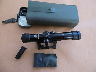 Zeiss Hensoldt Scope ZF 4x24 Model2 included STANAG mounting with lighting unit