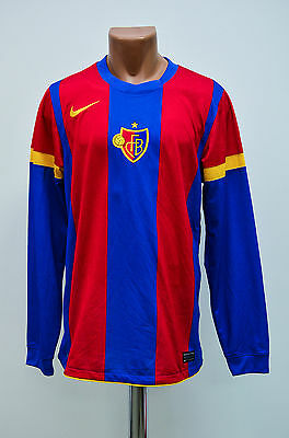 Basel Switzerland 2010/2011/2012 Player Issue Home Football Shirt Jersey Nike