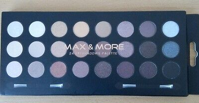 Palette Maquillage Ombre A Paupières - 24 Couleurs - Eyeshadows - Max & More