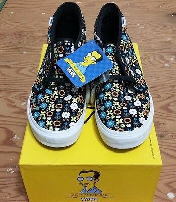 63f03a1b4b7e Vans X The Simpsons X Geoff Mcfetridge Chukka Size 10 supreme syndicate  wtaps