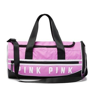 Victoria's Secret Pink Gym Duffle Bag Berry Gelato - New!