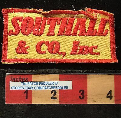 SOUTHALL & CO. INC. ~ Vintage Company Advertising Patch ~ 61T3