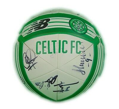 Celtic Signed Football 2017 + Photo Proof *see The Players Sign This Ball*