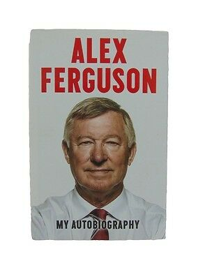 Alex Ferguson Signed 'my Autobiography' Manchester United Football Book + *coa*