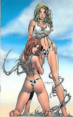 Witchblade # 18 Jay Company VIRGIN Colored Cover