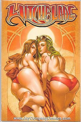 WITCHBLADE # 111 Jay Company Red Thong Variant Limited to 500 Copies
