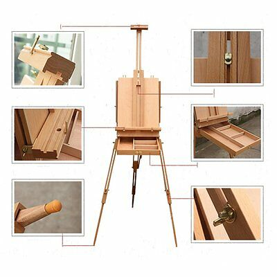 Art Painting French Easel Stand Wood Portable Folding Artist display Tripod