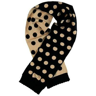 BÓBOLI knit scarf for girls Gold points Size M, L, XL