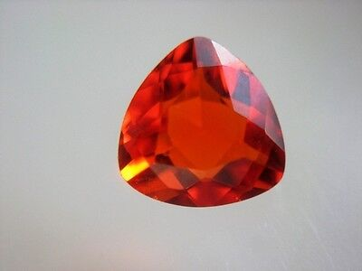 FEUEROPAL  -  TRILLANT FACET  -  5 mm  -  0,40 ct.