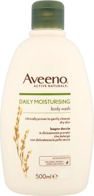 Aveeno Body Wash - Oatmeal for Dry & Sensitive Skin (500ml)