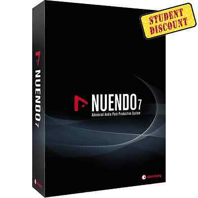 New Steinberg Nuendo 7 - Advanced Audio Post-Production Software STUDENT, Mac/PC