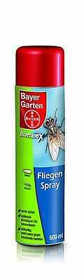 Bayer Fliegen Spray 600ml (22,53€/1l)