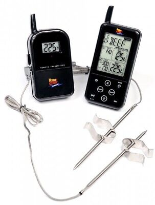 Maverick ET-733 Wireless Barbecue Funk-Thermometer Set, schwarz (51,35€/1Stk)