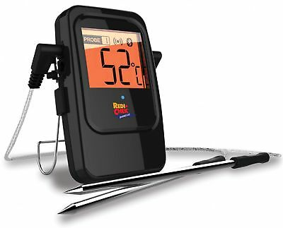 Maverick ET-735 Bluetooth Barbecue Thermometer, schwarz