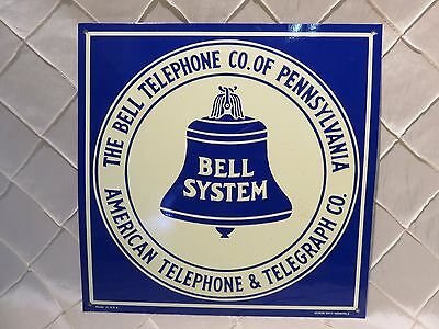 Bell System Tin Telephone Sign Repop by Desperate Sign Co.