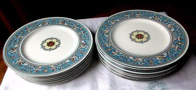 Wedgwood FLORENTINE TURQUOISE Dinner Plate **20 Available**