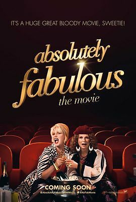 Absolutely Fabulous The Movie Poster 18'' X 28''