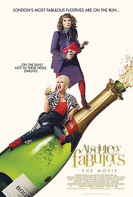 Absolutely Fabulous The Movie Poster 18'' X 28'' ID1