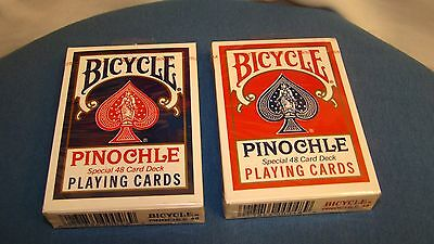 2 Bicycle Pinochle Special 48 Card Deck VINTAGE PLAYING CARDS, NEW