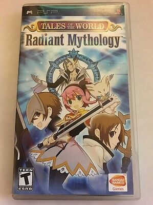 Tales of the World Radiant Mythology (Sony Playstation Portable PSP) Complete