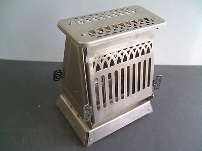 Hotpoint Antique Toaster Edison Electric Co. Chicago Cat 1116T24 Tested Good