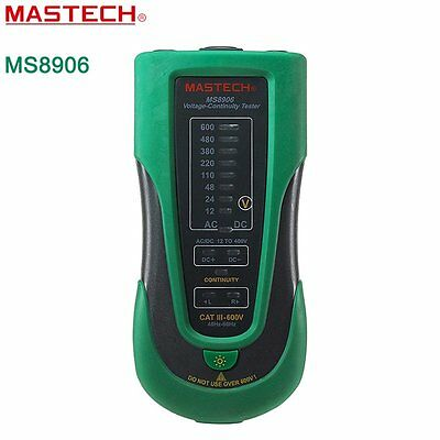MASTECH MS8906 Voltage Detector Multifunction Voltage Continuity Tester