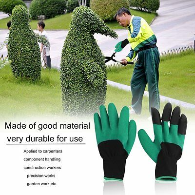 Breathable Solid Color Garden Household Gloves Waterproof Gloves For Digging OU
