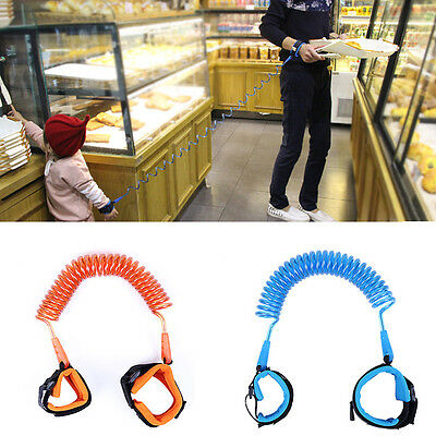Baby Kids Child Toddler Anti Lost Traction Rope Leash Wrist Link Safety 1.5-2.5M