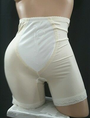 EUC BALI WONDER SHAPE 4370 GIRDLE SHAPER BEIGE sz L Large