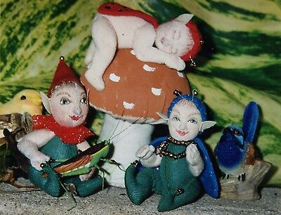 "��""I thought I saw a Fairy"" doll pattern designed by ""Mary Vlasak""��"