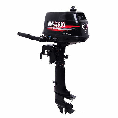 6HP Outboard Motor Boat Engine W/ Water Cooling System Fishing Boat Engine sale