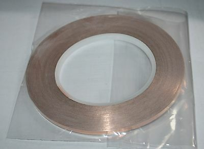 EXPO 22080 REEL OF SELF ADHESIVE COPPER TAPE 33m x5mm NEW ITEM