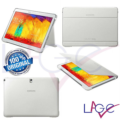 "Custodia a Libro per Samsung Galaxy Tab Pro 10.1"" Book Cover Originale Bianco"