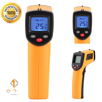 Digital Non-contact Thermometer Gun Infrared IR Sensor Laser Temperature meter M