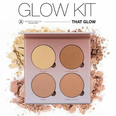NEW Anastasia Beverly Hills THAT GLOW Kit Palette Glow Highlighter UK Seller
