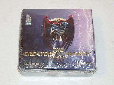 1993 The Creators Universe Trading Cards  Factory Sealed Box Of 36 Packs