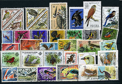 Topics - Birds - Uccelli - Lot 33 Different Stamps - See Scan - Fnt480