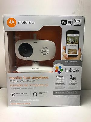 Motorola FOCUS 50 W Wi-Fi HD Home Monitoring everywhere Video Streaming  NEW