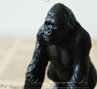RARE AAA Silver Back Gorilla Ape Monkey Animal Figure