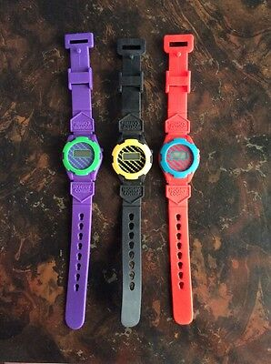 1990 RARE! HONEYCOMB WATCHES BY KRAFT GENERAL FOODS Set of 3