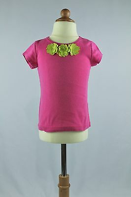 Carters Flower Short Sleeve Top, size 3T