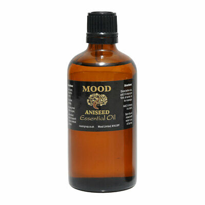 Essential Pure Aniseed Oils 100ml Aromatherapy Natural Anise Fragrances Diffuser