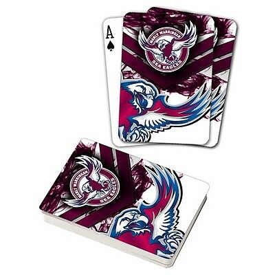 NRL Manly Warringah Sea Eagles Playing Cards Team Logo Mascot Deck of Cards