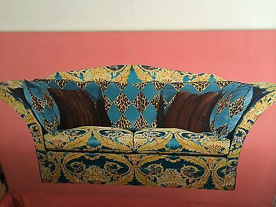 Contemporary artwork huge wall art mixed media sofa colourful alternative