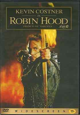 Robin Hood Prince Of Thieves  New  Dvd