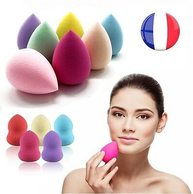 Eponge Beauty Blender Pose Facile Maquillage Professionnel Fond De Teint Poudre