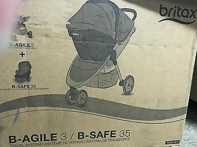 Britax 2016 B Agile 3 / B Safe 35 Travel System / Black