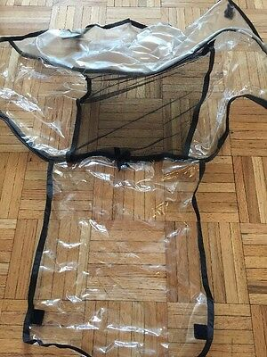 UPPAbaby Vista Stroller Rain Shield Clear Cover & Mosquito Net Cover