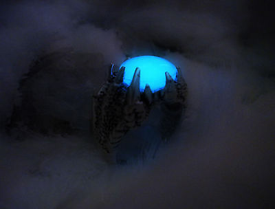 Glow in the Dark Dragon Ring - Mage's Ring - Dragon Claw