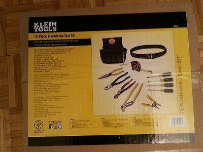 Klein Tools 12 - Piece Electrician Tool Kit